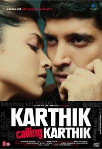 Farhan Akhtar Twitter Profile Background - Karthik Calling Karthik Poster