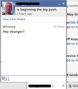 how to delete facebook chat history