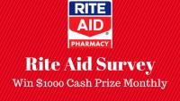 Rite Aid Survey Sweepstakes