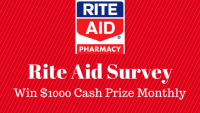 Rite Aid Survey Sweepstakes