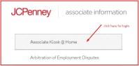 JC Penney Associate login