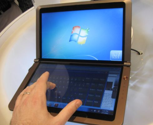 MSI Dual Touchscreen Netbook