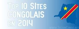Top 10 des Sites internet Congolais les plus visités – 2014