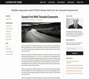 Telecharger eleven40 wordpress theme