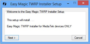 Easy Magic TWRP Installer