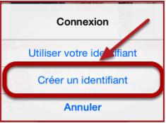 Connexion ID Apple