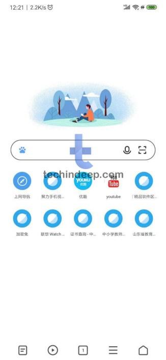 Xiaomi Mi Браузер