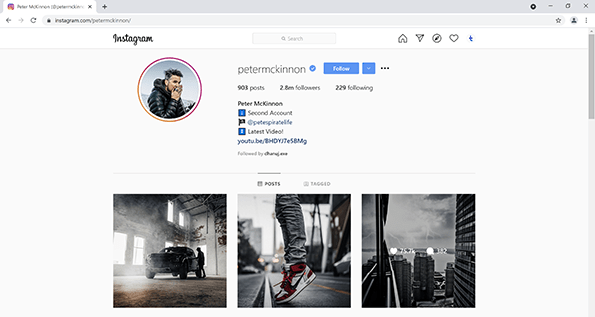 Download Instagram Image with Chrome