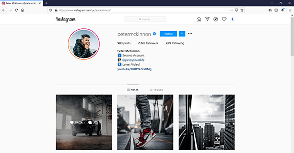 Download Instagram Image with Mozzila Firefox
