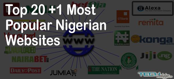Top 20 Most Popular Nigerian Website