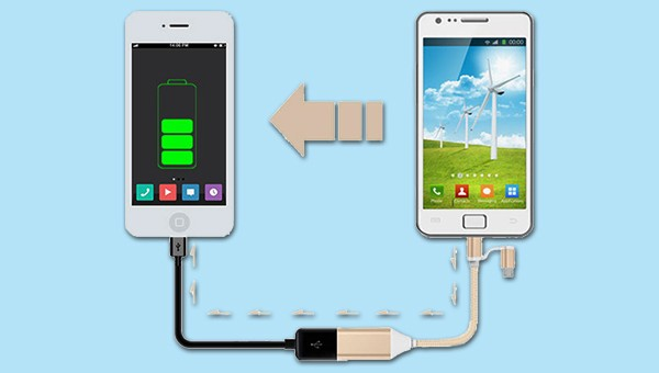 OTG Connection With Another Phone to Charge