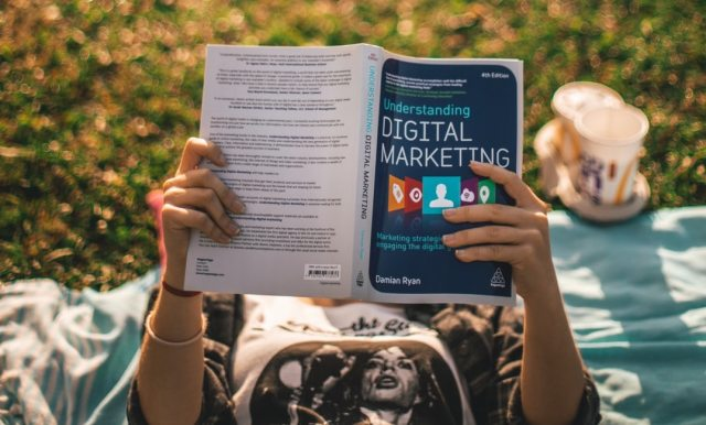 Image showing Digital marketing book SEO