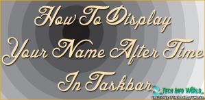 How-To-Display-Your-Name