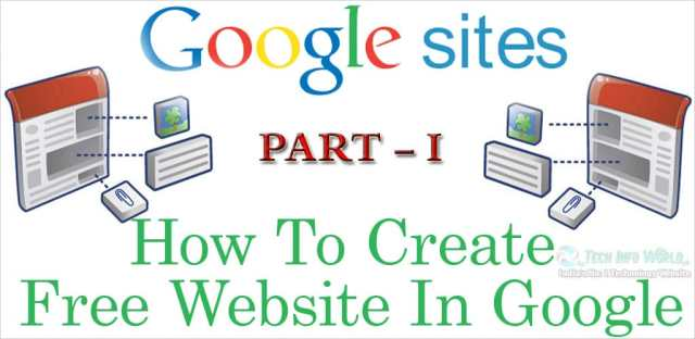 How to Create a Website Free of Cost? - Create A Website For Free