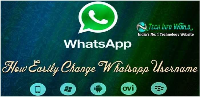 WhatsApp Username