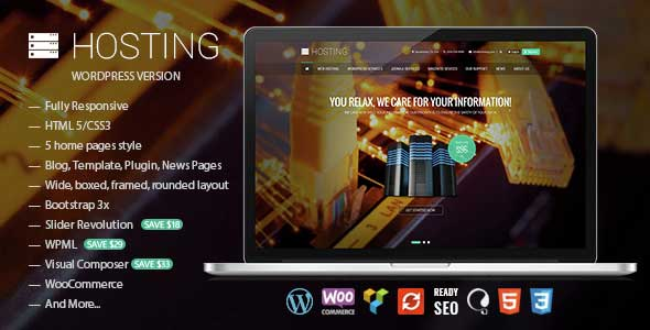 hosting-woocommerce-theme