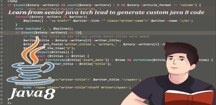 Learn from senior java tech lead