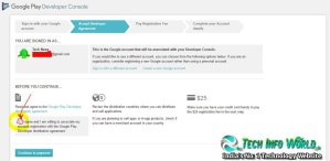 Google Play Developer Console Account Steps