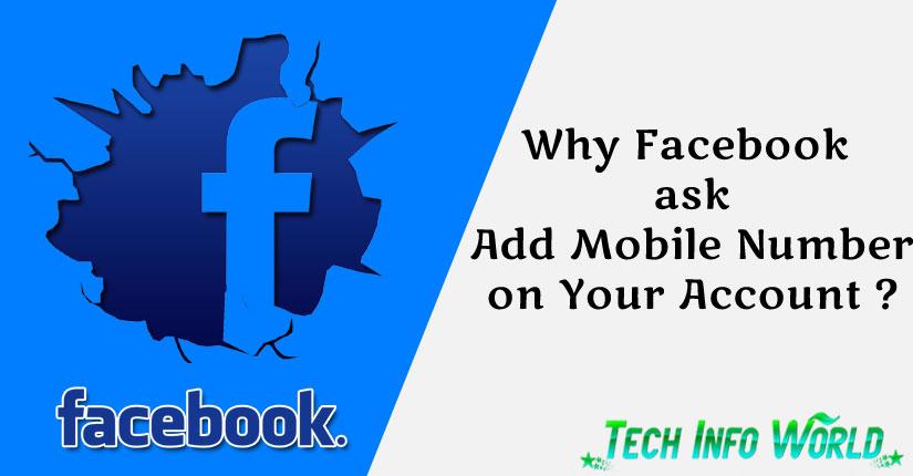 facebook ask mobile number