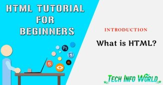HTML Tutorial for Beginners Introduction