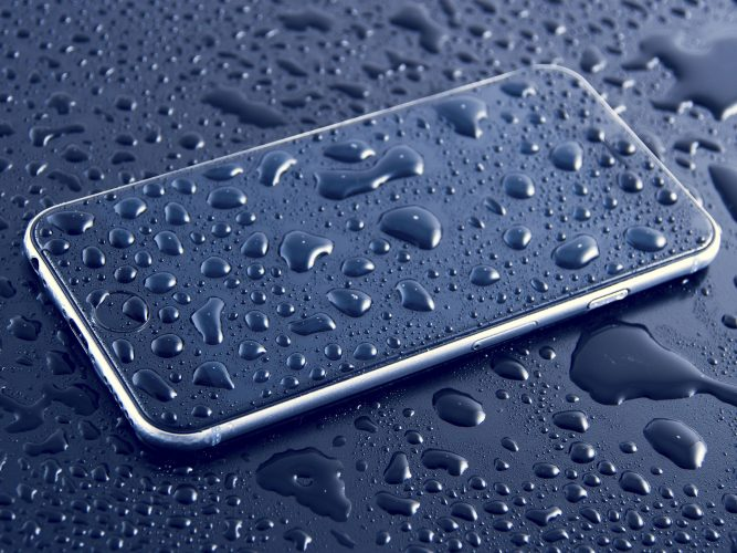 save wet smartphone
