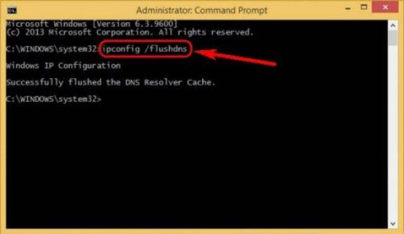 Flush DNS Using CMD (Command Prompt)