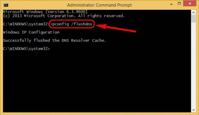 Flush DNS Using CMD (Command Prompt)