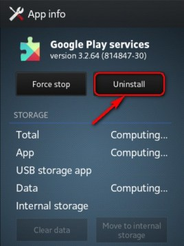 Uninstall Google Play & Download Google Play APK (Error 923)