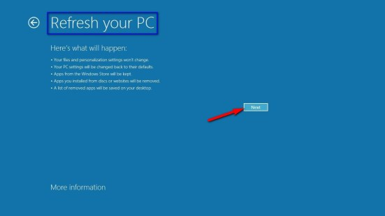 Refresh your (Computer) PC