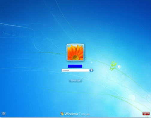 Log-on to your PC with Administrator Rights