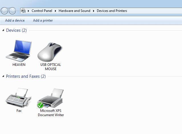 Fix Error Printer not Activated Problem