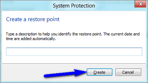 Use or Create a Restore Point BAD_POOL_HEADER