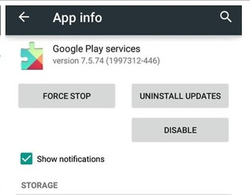Update or Uninstall Google Play Store Updates