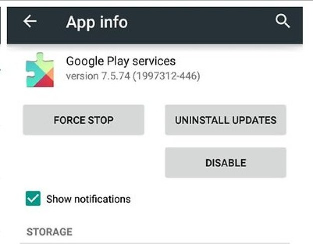 how to stop unfortunately google play service has stopped