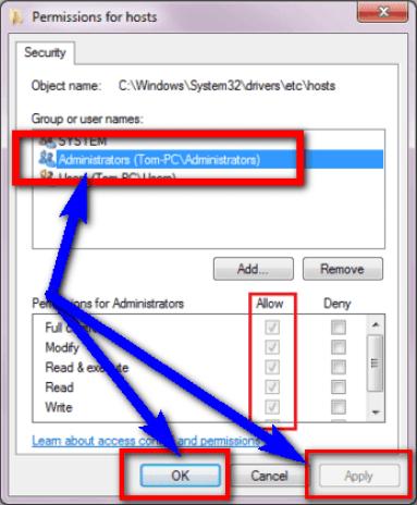Delete System Host File