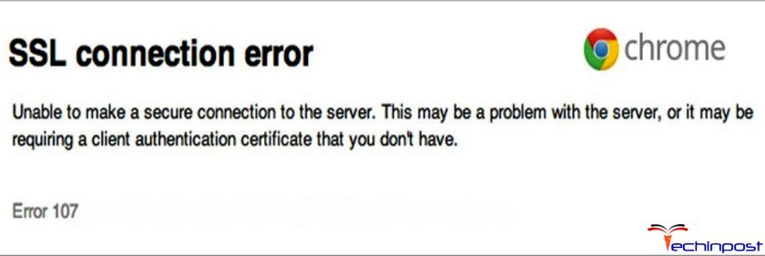 [SOLVED] Error 107 Code Problem Issue (100% Working)