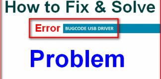 BUGCODE_USB_DRIVER
