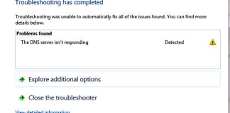 The DNS Server is Not Responding