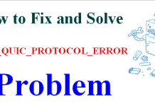 ERR_QUIC_PROTOCOL_ERROR