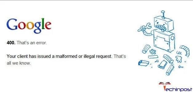 Error Code 400