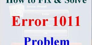 Error 1011