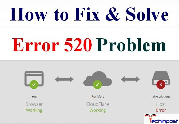 [SOLVED] Error 520 Code Problem Instantly (100% Working)