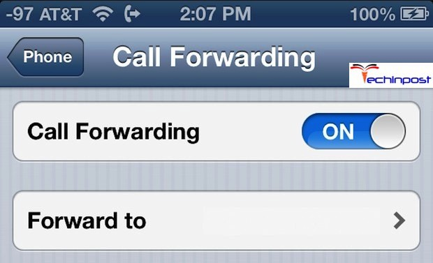 Call Forwarding iPhone 5