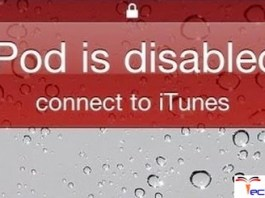 iPod is Disabled Connect to iTunes