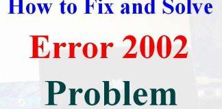 Error 2002