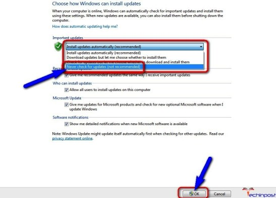 urn OFF the Windows Automatic Drivers Updates