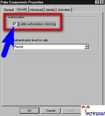 Enable the Authorization Checking