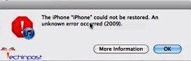 Error 2009