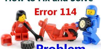 Error 114