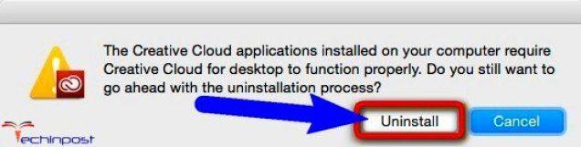 Uninstall the Creative Cloud Desktop Application & Upgrade it now